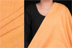 Pre-shrunk Mangalgiri Handloom Cotton Fabric by DAMA
