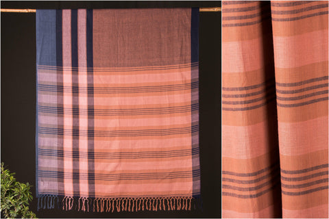 Baragaon Weaves Handloom Cotton Saree from Barabanki