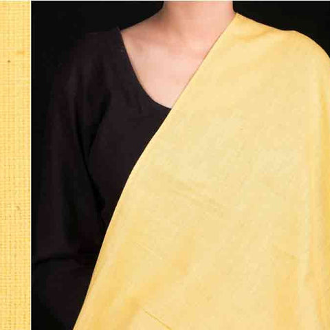 Baragaon Handloom Plain Cotton Fabric