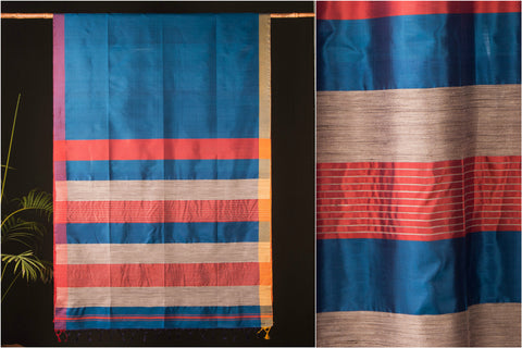 Handwoven Bengal Pure Silk Saree by Khushbash