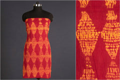 Kutch Shibori Mul Cotton Dress Material