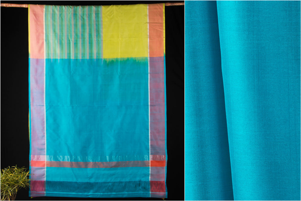 Chirala Handloom Silk Saree with Blouse