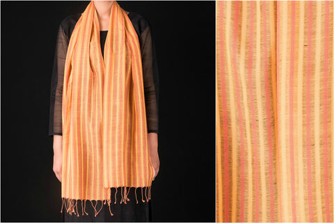 Handwoven Cotton Stole from Nadia