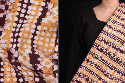 Hand Batik Printed Cotton Fabric by Md. Shariff