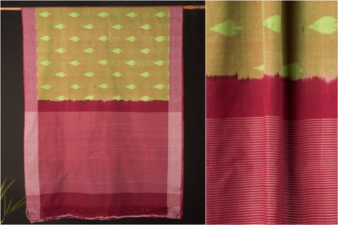 Special Pochampally Ikat Cotton Handloom Saree