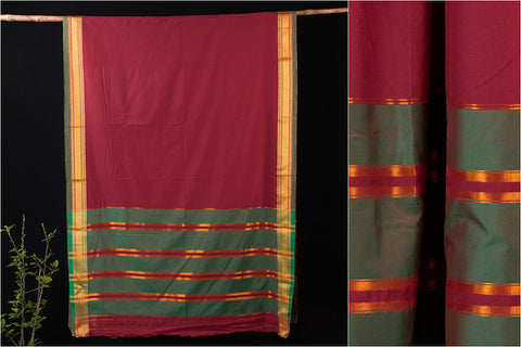 Narayanpet Mercerised Cotton Handloom Saree