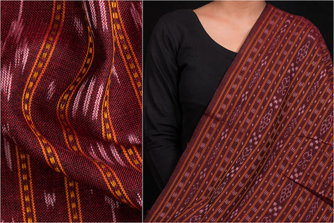 Handwoven Sambalpuri Ikat Lining Cotton Fabric