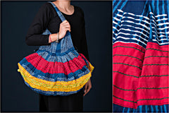 2018/426-3 107  Jugaad Mastana Patchwork Cotton Bag