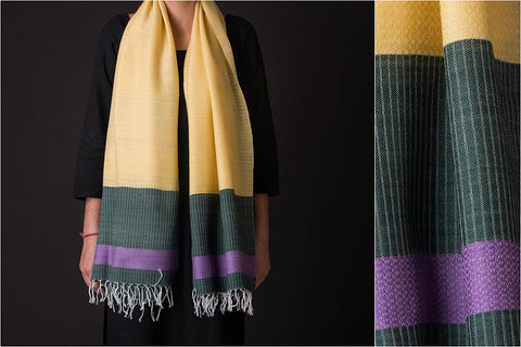 Bengal Handwoven Viscose - Wool Stole