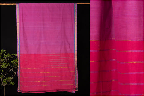Godavari Queen Cotton Saree with Blouse by DAMA