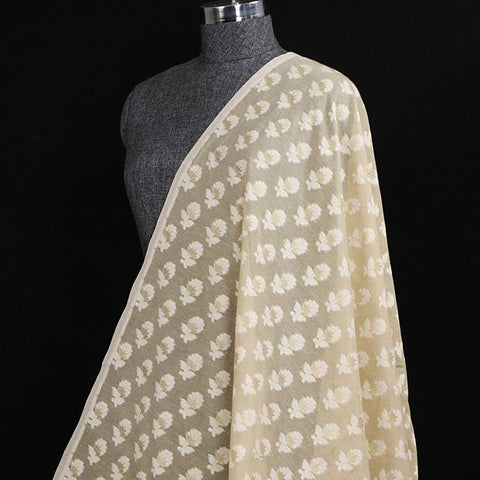 Traditional Banarasi Alfi Meenadar Cotton Fabric