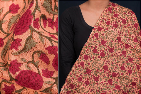 Jaipur Screen Printed Soft Cotton Flex Fabric