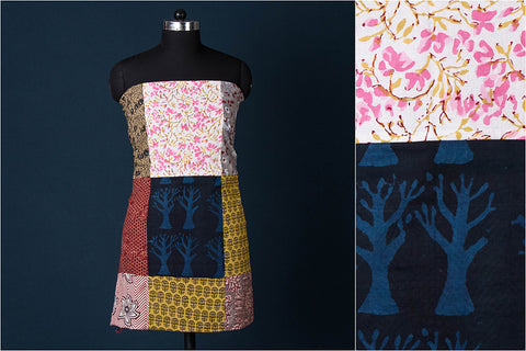 Patchwork Printed Cotton Precut Fabric (2.5 M)