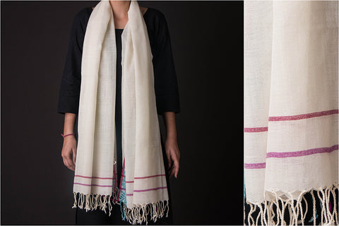 Bengal Handwoven Pure Wool Stole