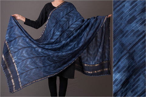 Buy Shibori Tie & Dye Printed Cotton Silk Sarees, Dupattas