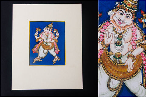 6in x 5in - Traditional Mysore Painting Narasimhavathara