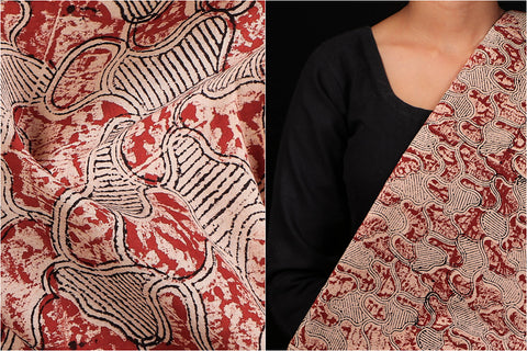 Traditional Bagru Dabu Block Printed Pure Cotton Fabric