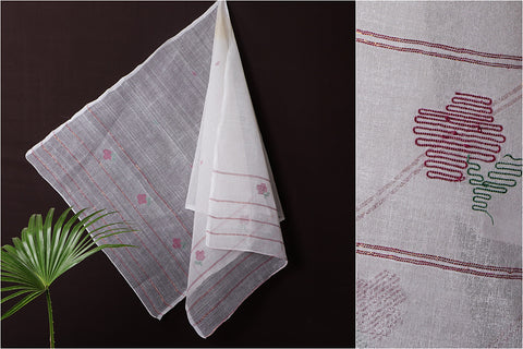 Traditional Manipuri Weave Handloom Cotton Stole
