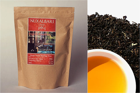 Nuxalbari Tea Company - English Breakfast 25 Pyramid Tea Bags