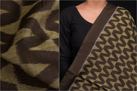 Handwoven Sambalpuri Ikat Jhooti Cotton Fabric