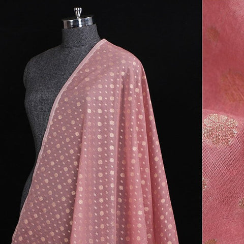 Traditional Banarasi Cotton Zari work Fabric