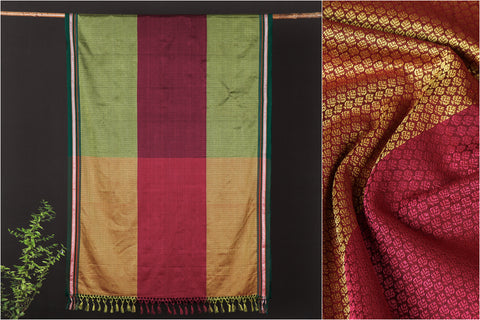 Maharashtra Khun Cotton Saree with Border