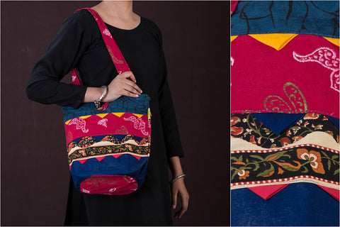 Jugaad Patchwork Potli Bag