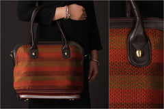 Handcrafted Special Khun Fabric Shoulder Bag