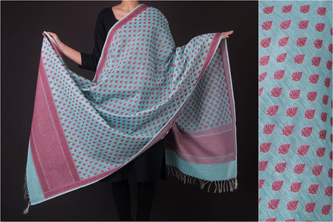 Pure Banarasi Kora Silk Cotton Cutwork Handwoven Dupatta