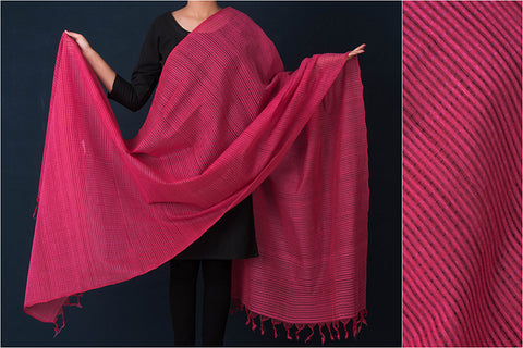 Handloom Mangalgiri Cotton Dupatta by DAMA