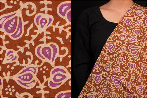 Kutch Batik Print Cotton Fabric by Shakil Ahmed Khatri