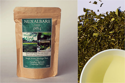 Nuxalbari Tea Company - Moroccon mint Leaf Tea