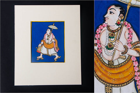 6in x 5in - Traditional Mysore Painting Vamanavathara