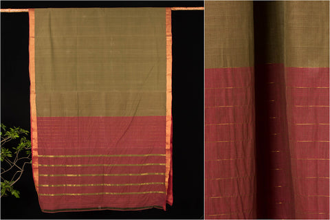 Godavari Lavanya Cotton Saree with Blouse by DAMA