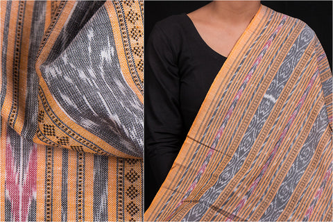 Handwoven Sambalpuri Ikat Dubi Cotton Fabric