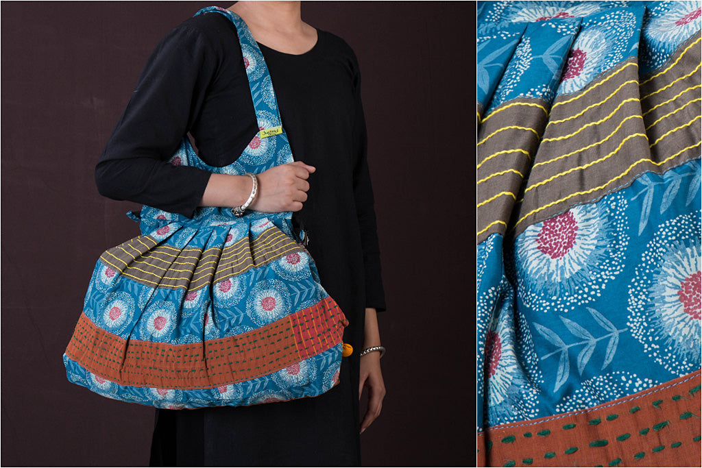 Jugaad Mastana Patchwork Cotton Bag