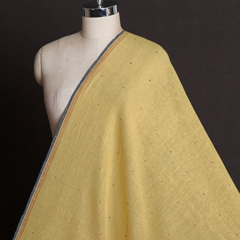 Organic Kala Cotton Pure Handloom Small Butti Fabric