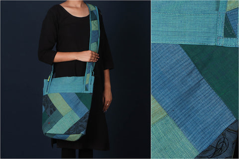 Jugaad Patchwork Cotton Tote Bag