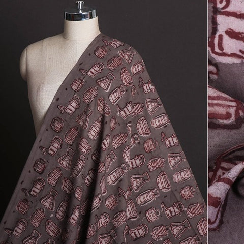 Natural Dyed Hand Block Printed Pure Cotton Fabric by Bindaas Unlimited!