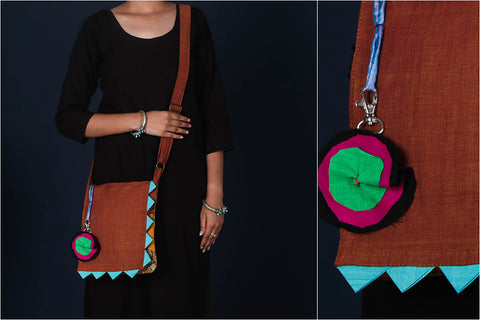 Jugaad Patchwork Cotton Sling Bag