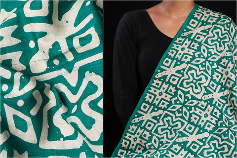 Hand Batik Printed Soft Cotton Fabric by Wasim