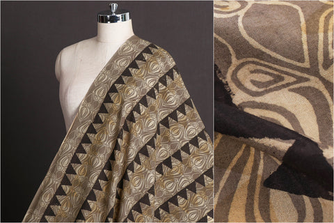 Sufiyan Khatri Special Cotton Ajrakh Hand Block Print Natural Dyed Fabric