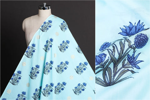 Jaipur Screen Printed Pure Cotton Fabric