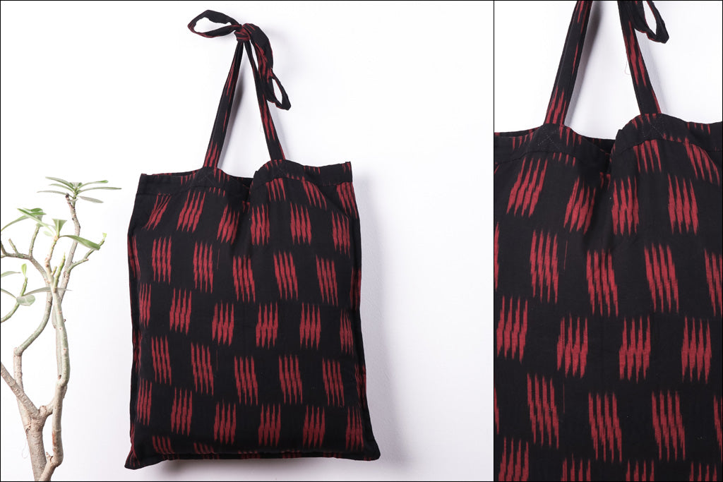 Pochampally Ikat Cotton Fabric Shopping Bag