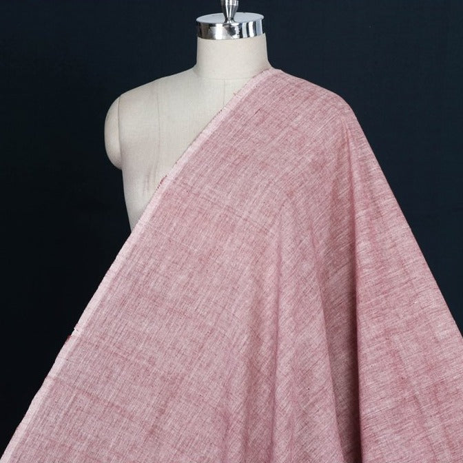 Malkha Pure Handloom Cotton Natural Dyed Fabric