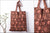 Kalamkari Block Print Cotton Fabric Shopping Bag
