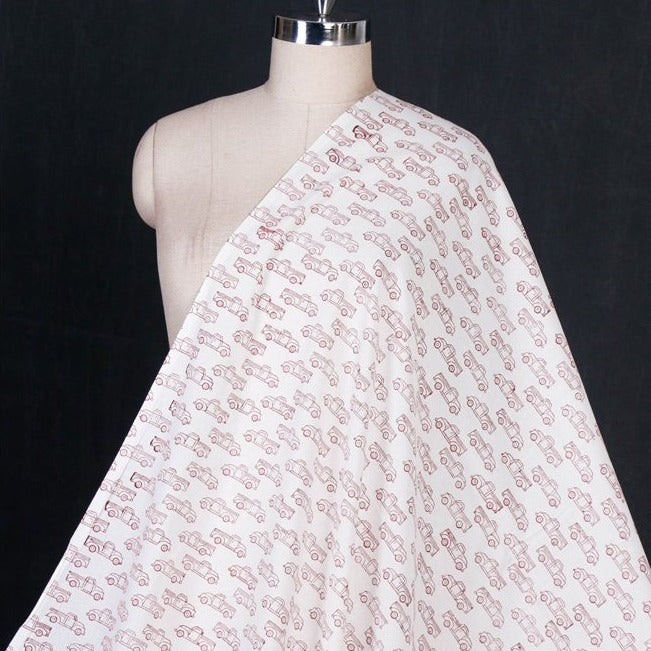 Jaipur Hand Block Printed Pure Cotton Fabric