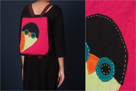 Jugaad Lalita Patchwork Cotton Pithu Bag