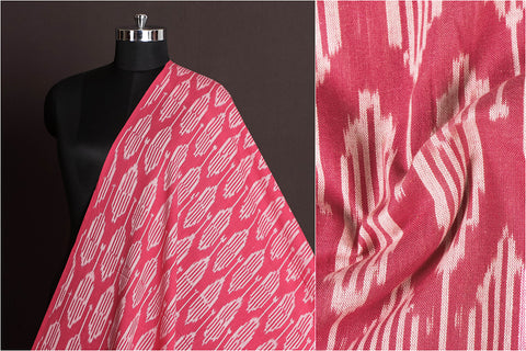 Pochampally Woven Ikat Washed Cotton Fabric