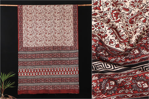 Hand Block Printed Pure Cotton Saree